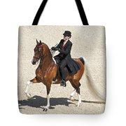 Painted Saddlebred Tote Bag