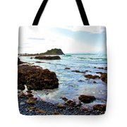 Painted Seascape Tote Bag
