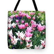 Painted Spring Exhibit Tote Bag