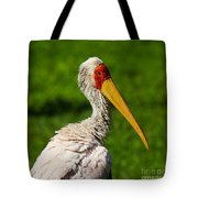 Painted Stork Tote Bag