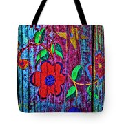 Painted Table Tote Bag