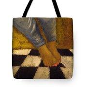 Painted Toe Nails Tote Bag