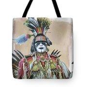 Painted  Warrior  Tote Bag