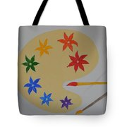 Painter's Bliss Tote Bag