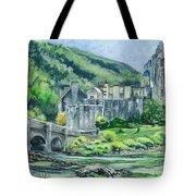 Eilean Donan Medieval Castle Scotland Tote Bag