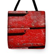 Painting It Red Tote Bag