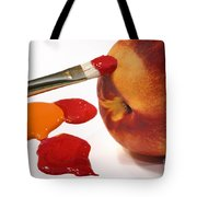 Painting Natures Colors Tote Bag