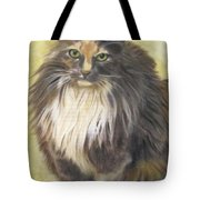 Painting Of Shelby Tote Bag by Sharon Burger