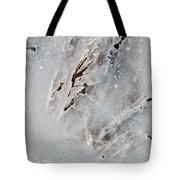 Painting On Ice Tote Bag