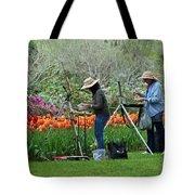 Painting Springtime  Tote Bag