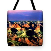 Painting The Grand Canyon National Park Tote Bag