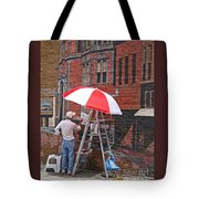 Painting The Past Tote Bag