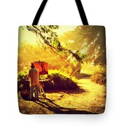 Painting The Path Tote Bag