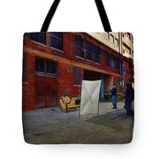 Painting The Photographer Tote Bag