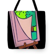 Painting Veil Canvas Tote Bag