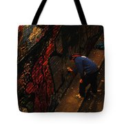 Painting Walls Tote Bag