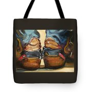 Pair Of Boots Tote Bag