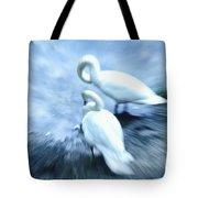 Pair Of Swans Tote Bag