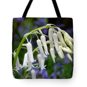 Pair Of White Bluebells Tote Bag