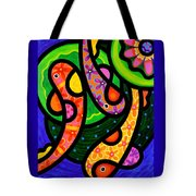 Paisley Pond - Vertical Tote Bag