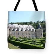 Palace And Garden Bussy Rabutin - Burgundy Tote Bag
