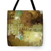 Palace And Park Of Versailles Tote Bag
