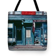 Palace Barber Shop And Lees Candy Store Tote Bag