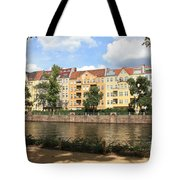 Palace Garden View Tote Bag