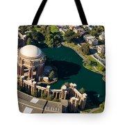Palace Of Fine Arts Aloft Tote Bag