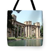 Palace Of Fine Arts Colonnades  Tote Bag