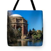 Palace Of Fine Arts In Color Tote Bag