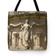 Palace Of Fine Arts Relief San Francisco Tote Bag