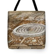 Palace Of The Universal Exhibition In Paris Tote Bag