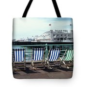 Palace Pier Brighton Tote Bag