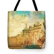 Palaces And Parks Of Potsdam And Berlin Tote Bag by Catf