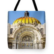 Palacio De Bellas Artes Tote Bag