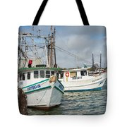 Palacios Texas Two Boats In View Tote Bag