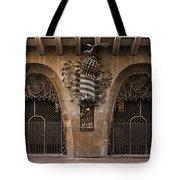 Palau Guell 1886 To 88 Gaudi Barcelona Spain Dsc01413 Tote Bag