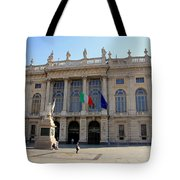 Palazzo Madama In Turin Tote Bag
