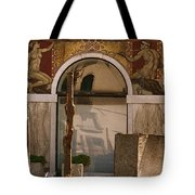 Palazzo Salviati Details Of The Facade Tote Bag