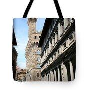 Palazzo Vecchio And Uffizien Tote Bag