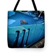 Pale Blue Rider -2 Tote Bag