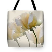 Pale Yellow Tote Bag