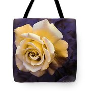 Pale Yellow Rose Tote Bag