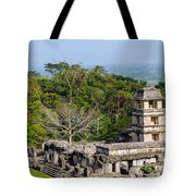 Palenque Palace Tote Bag