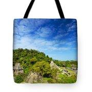 Palenque View Tote Bag