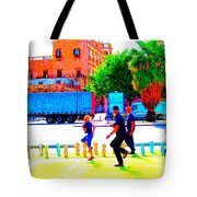 when we were walking the Palermo walk Tote Bag