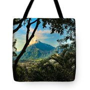 Pali Lookout For Puu Alii Tote Bag