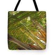 Palm Blossoms Tote Bag
