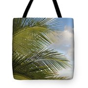 Palm Close Up 3 Tote Bag